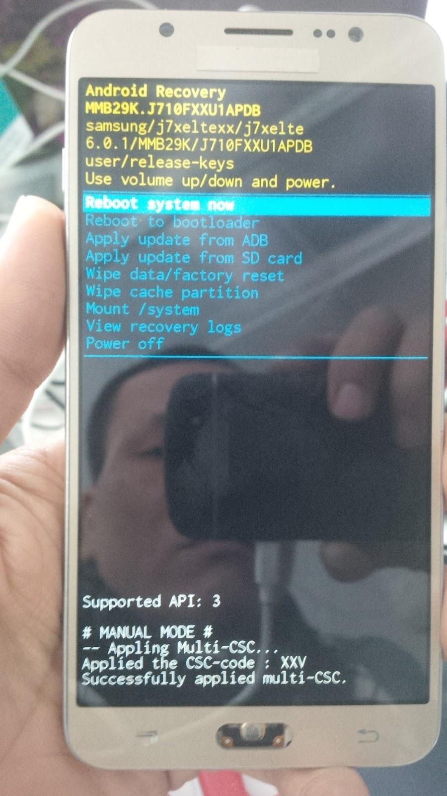 Hướng dẫn] Bypass google Samsung j7 2016 ( j710F , j710Fn
