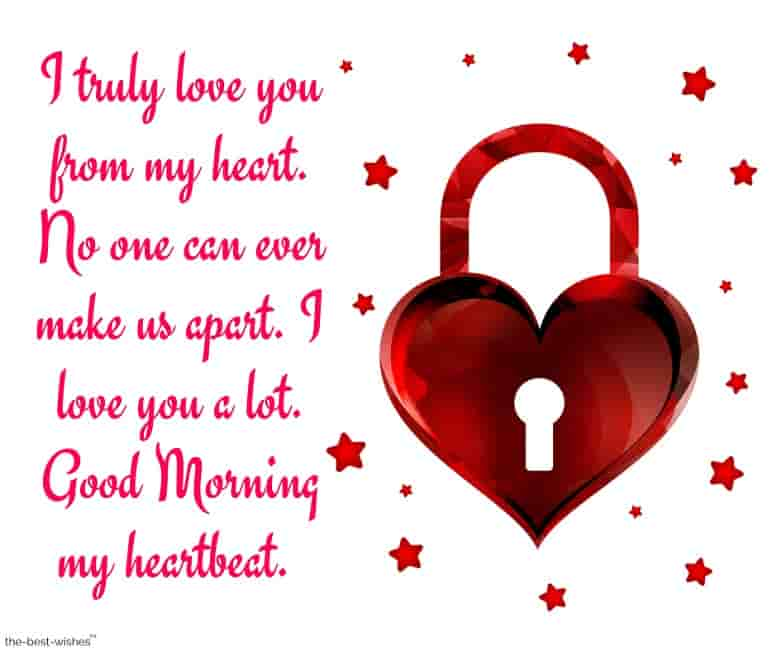 good morning message for husband long distance