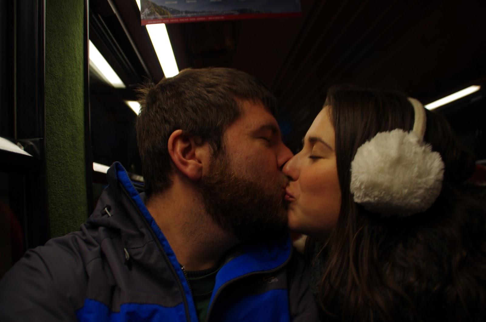 Grindelwald Switzerland Winter Train Ride
