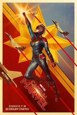 Captain Marvel Dolby Cinema poster