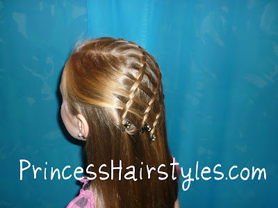 triple fairytale braid