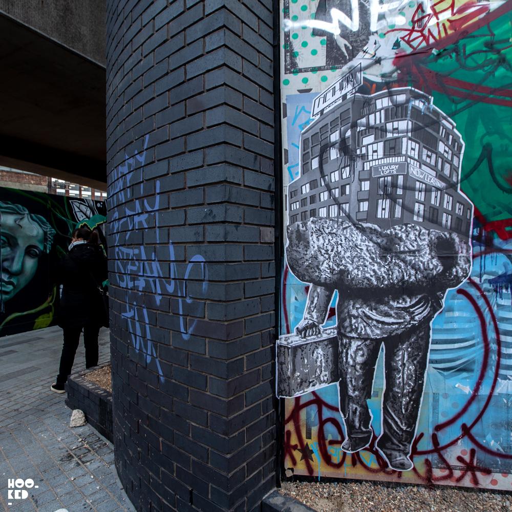 Shoreditch Street Art, Baltimore-Born Street Artist nether410