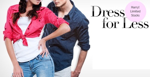 HomeShop18 Dress for Less Offer: Rs.300 OFF ON Rs.1000 | Rs.800 OFF on Rs.2000 | Rs.2000 OFF on Rs.4000