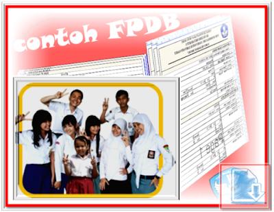 Contoh Formulir PPDB Lengkap SD SMP SMA