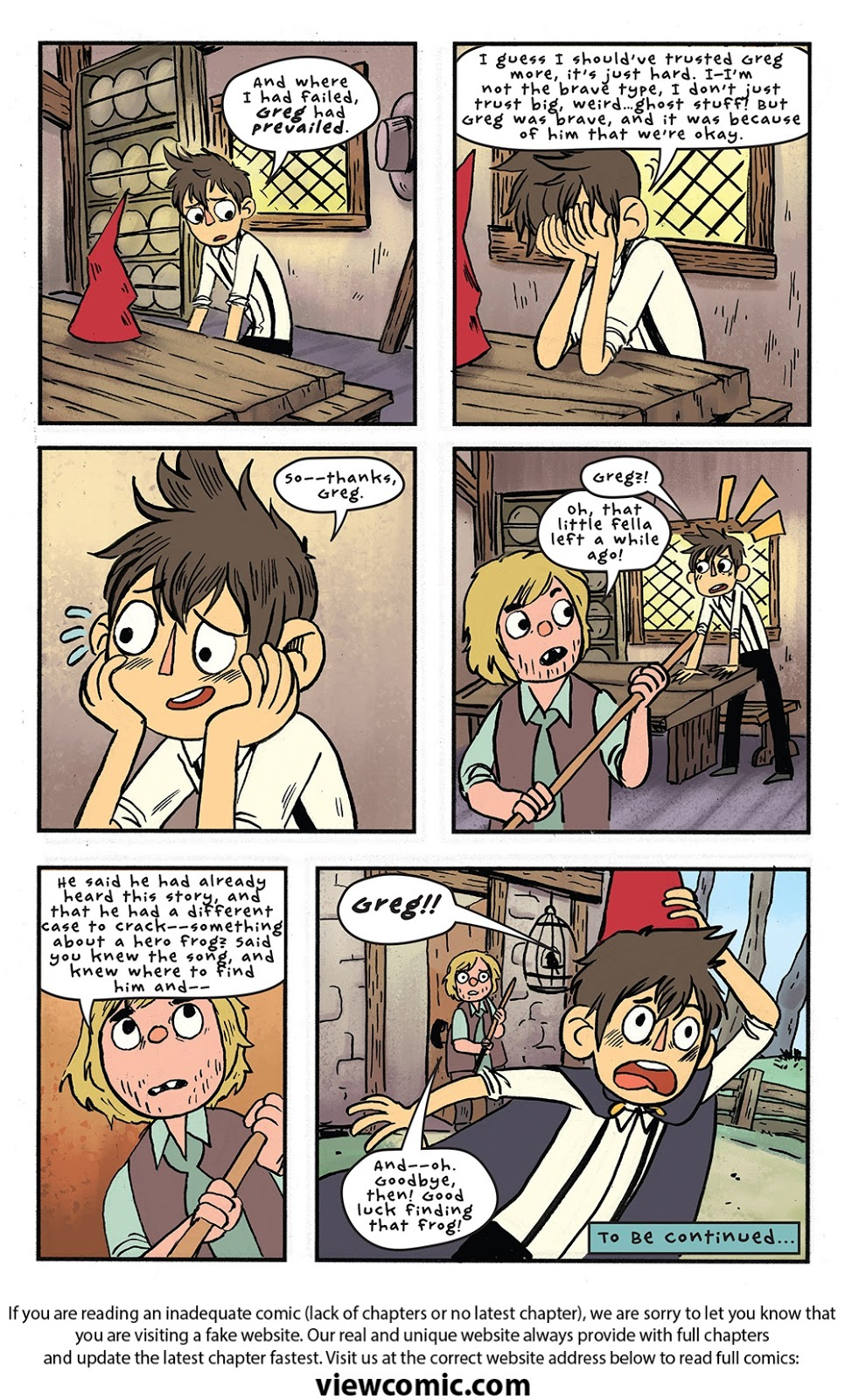 Over The Garden Wall V2 006 2016 Reading Comics Online For Free