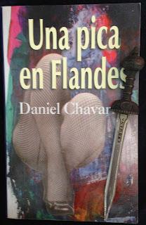 Portada del libro Una pica en Flandes, de Daniel Chavarría