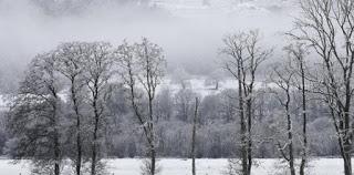 Το παγωμένο λευκό ουράνιο τόξο στη Σκωτία