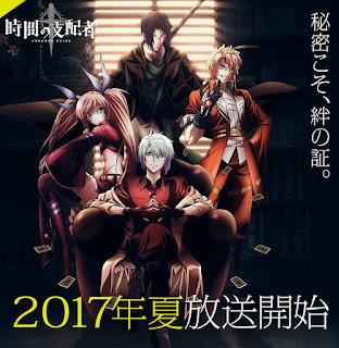 """Nuevo vídeo promocional para el anime de """"Chronos Ruler"""" de PONJEA"""