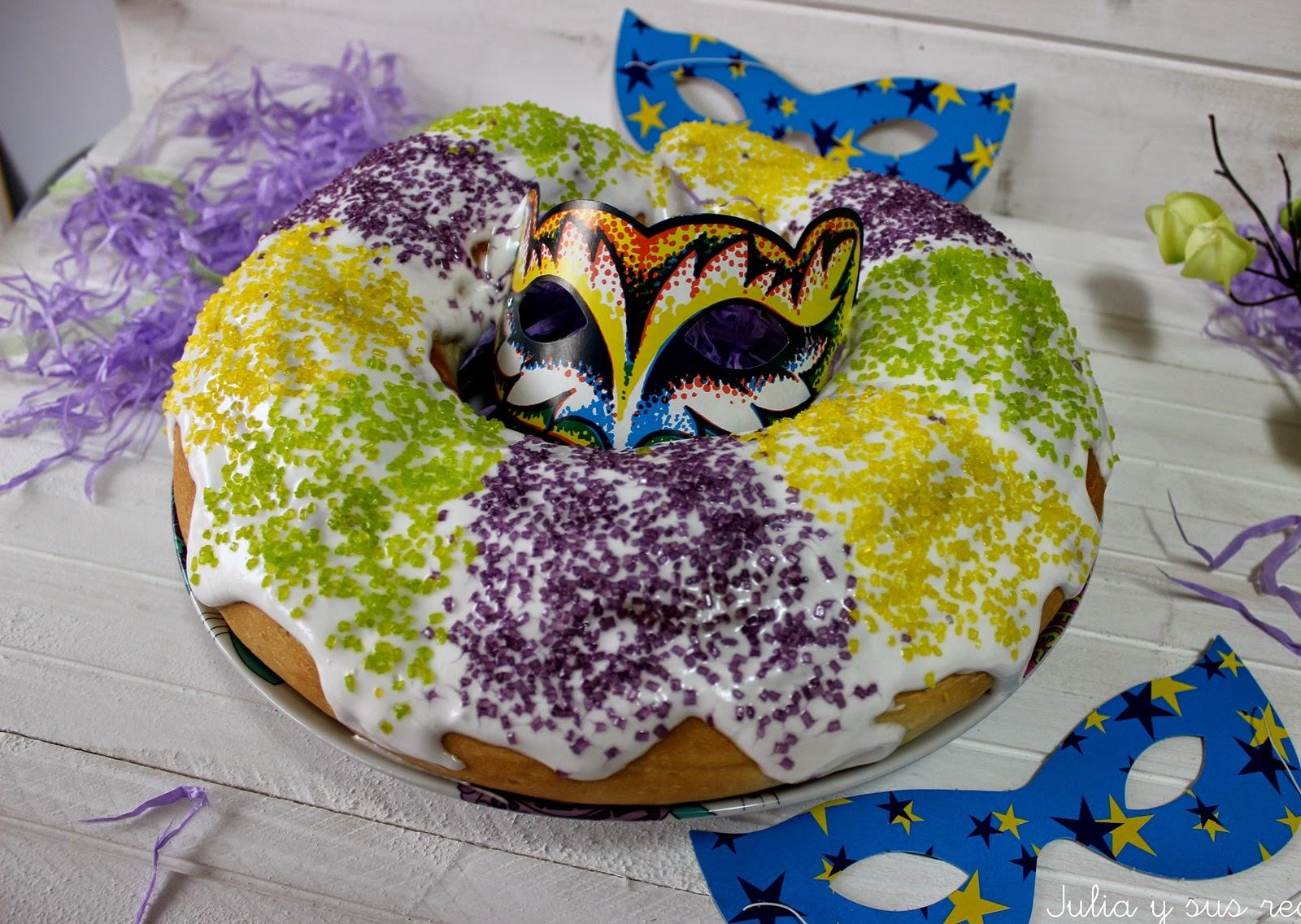 King cake. Julia y sus recetas