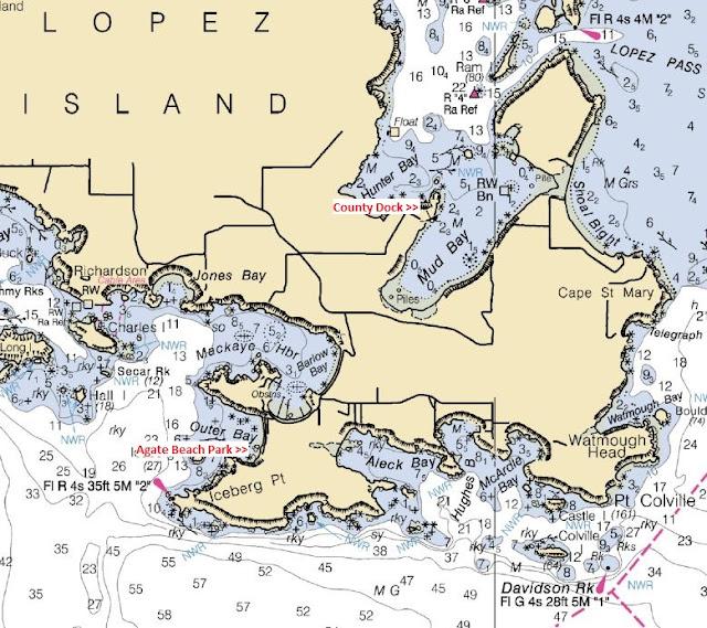Agate Beach  Iceberg Point Hunter Bay