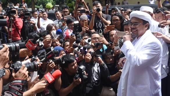 PBB: Koalisi Parpol yang Diimbau Habib Rizieq Bisa Tumbangkan Jokowi