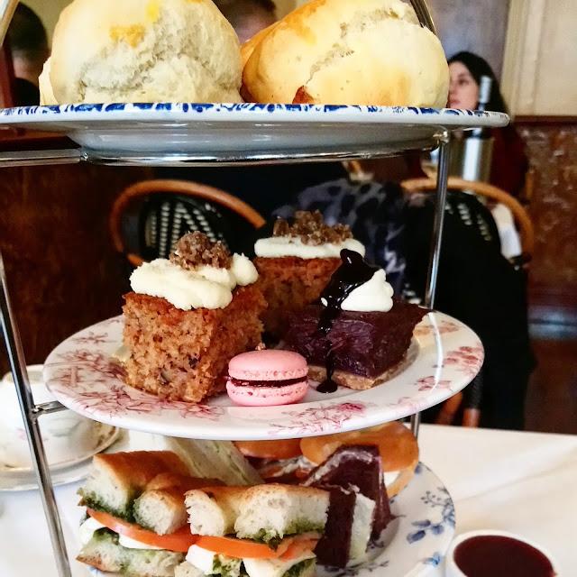 Afternoon Tea at Boulevard Brasserie