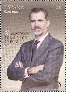 50 ANIVERSARIO S.M EL REY FELIPE VI