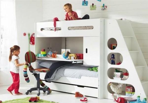 Dormitorios con escritorio - Escritorio para dormitorio ...