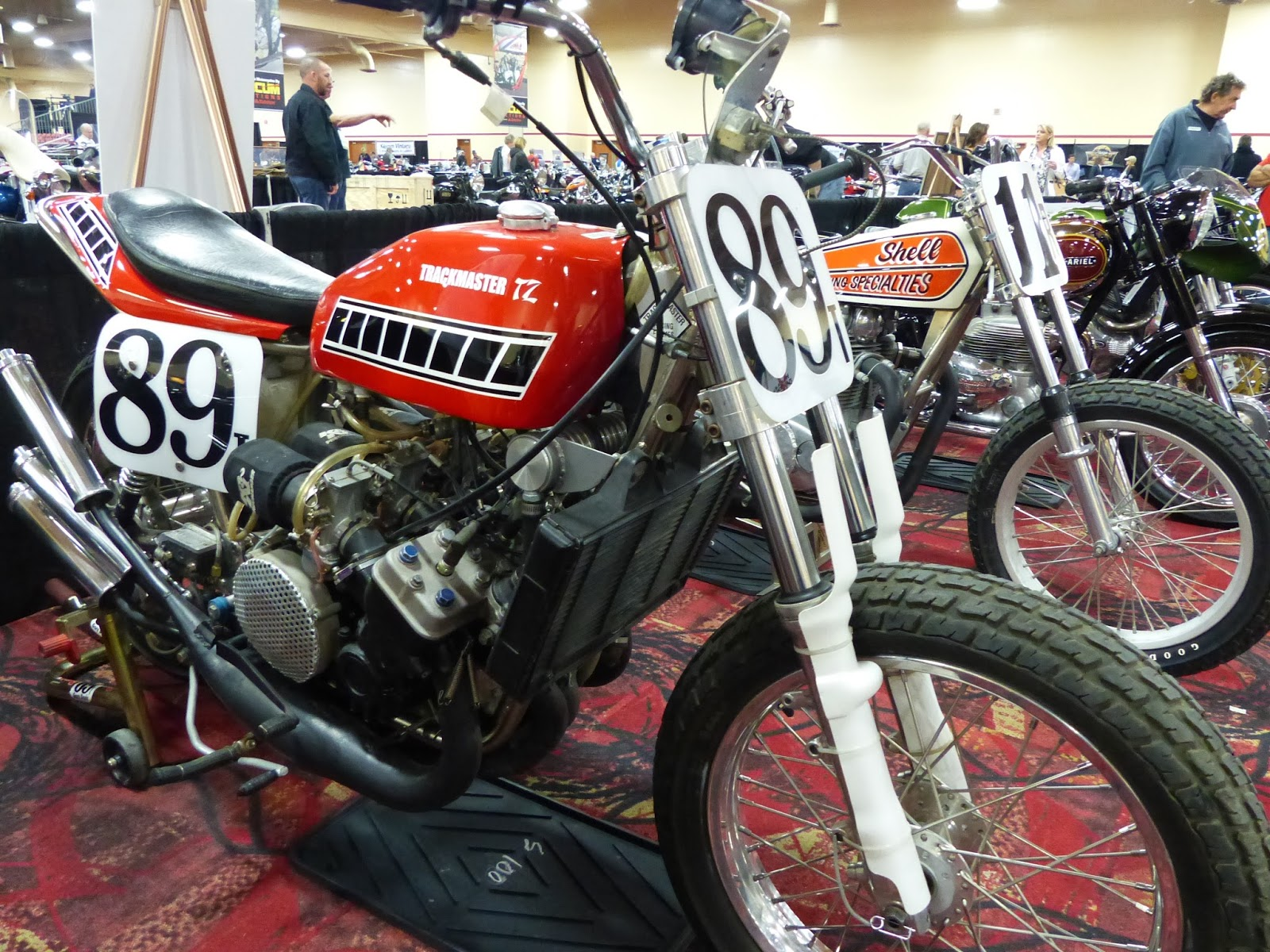 1975 yamaha tz750 flat tracker for sale at the 2016 mecum las vegas motorcycle auction