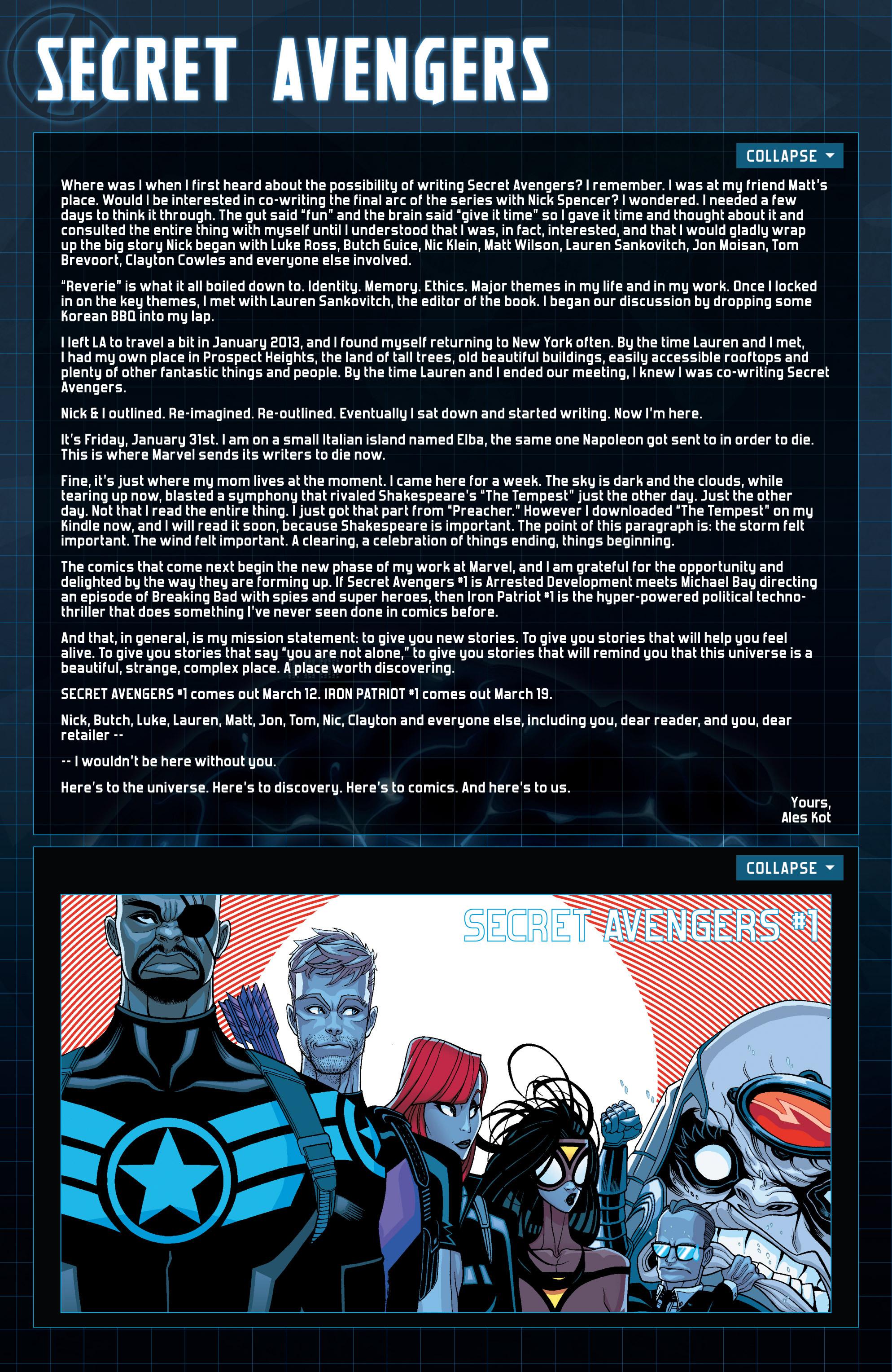 Read online Secret Avengers (2014) comic -  Issue #16 - 23