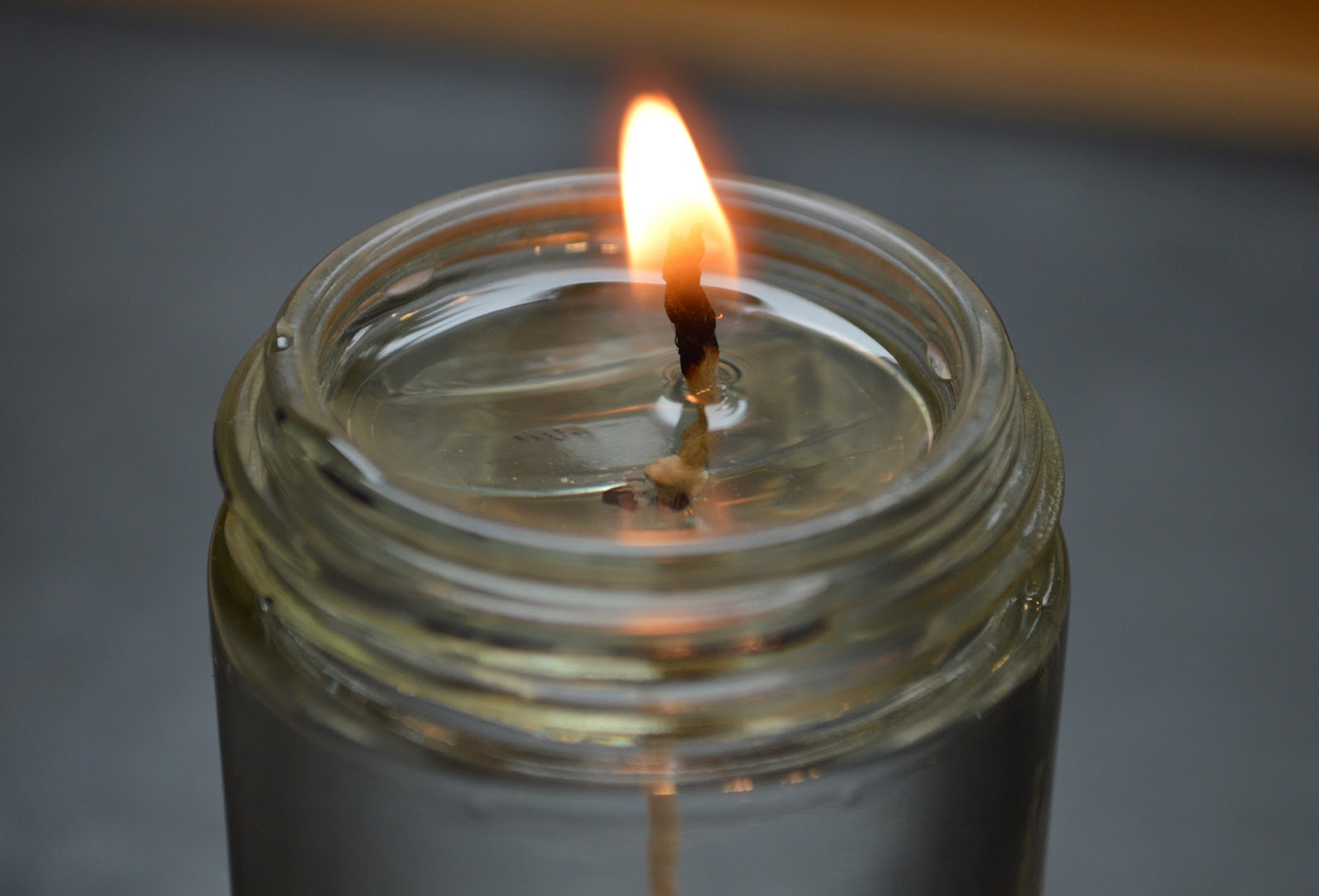 How to Make a Water Candle ~ VonMalegowski