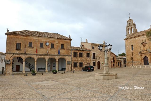 Plaza del Infante Don Juan Manuel, Alarcón