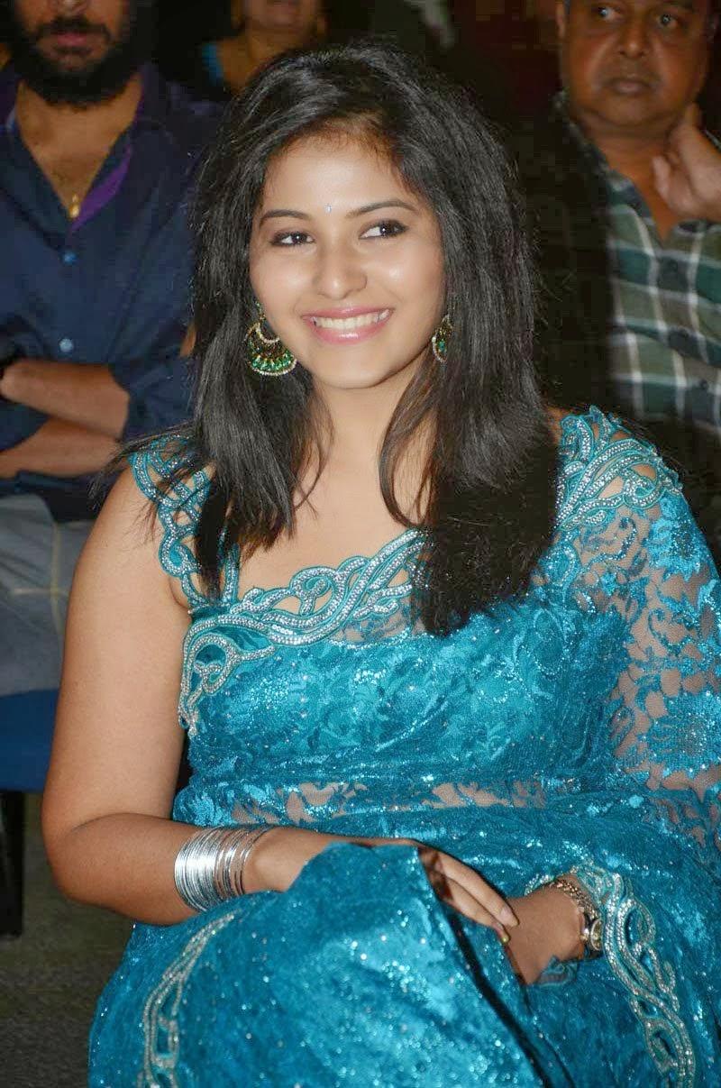 Anjali Hot Saree Photos ~ High Resolution Pictures