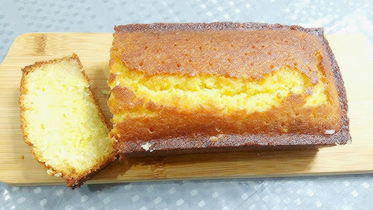 Lemon Syrup Cake ~ Life can be simple
