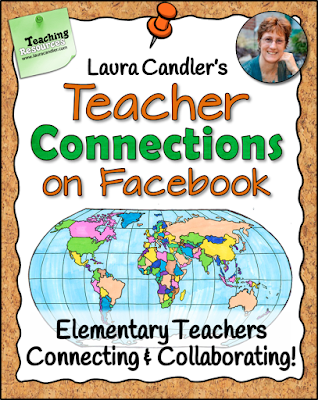 Learn how to join one of Laura Candler's Teacher Connection groups on Facebook, two private groups for elementary teachers who love what they do!