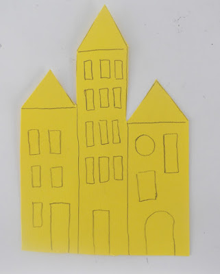 paper, art, building, city, crafts, kids, activities