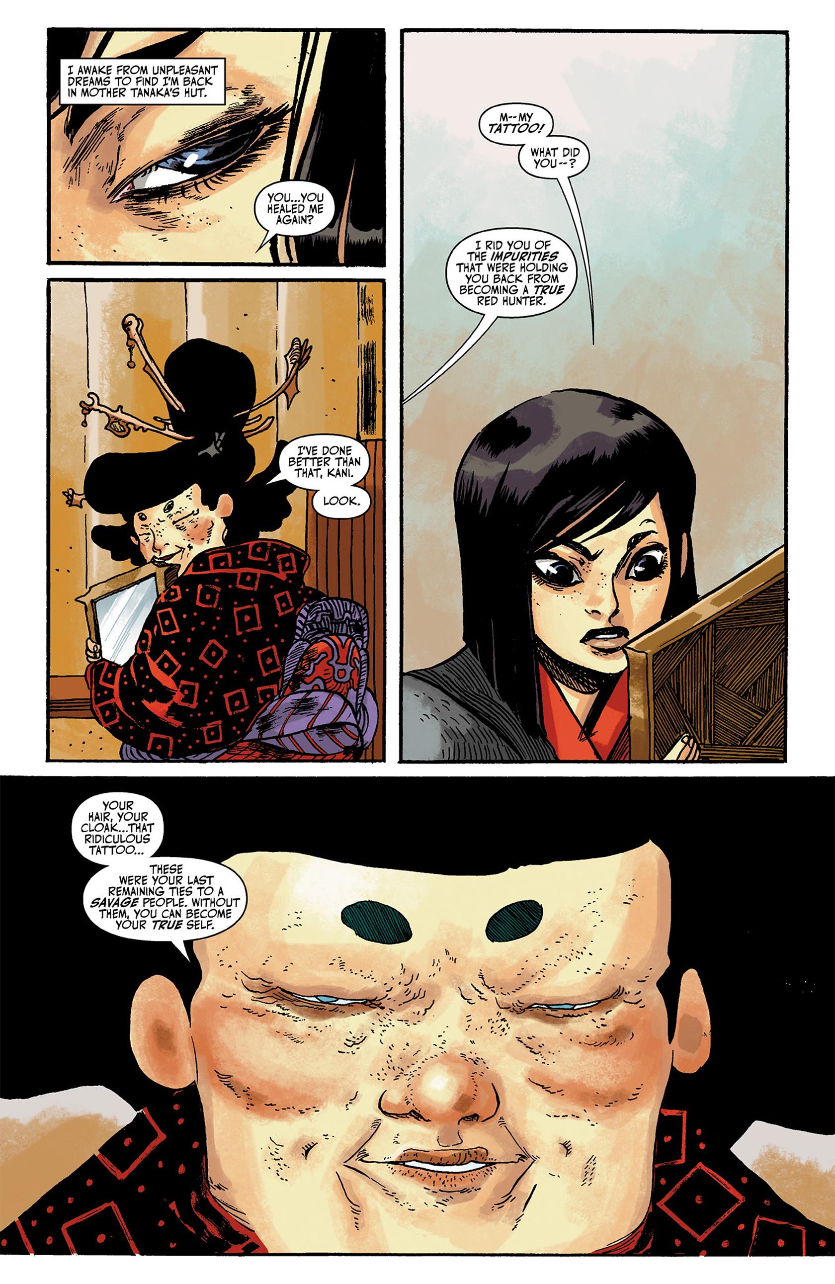 Read online Akaneiro comic -  Issue #2 - 19