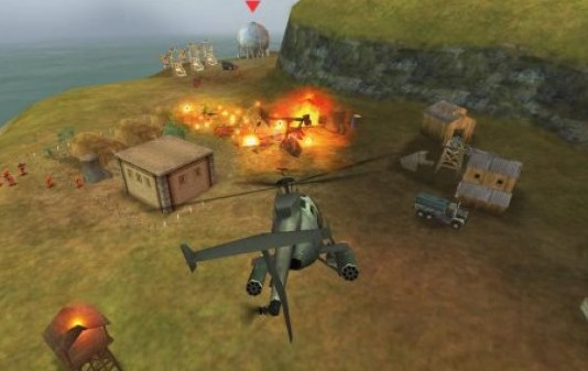 لعبة gunship battle مهكرة ومفتوحة كل المراحل