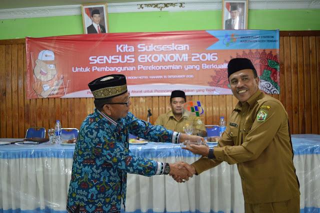 Sukseskan Sensus Ekonomi, BPS Aceh Tengah Rekrut  Petugas