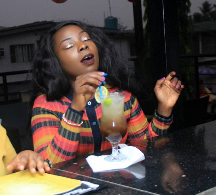 Blackwood Grills And Bar Hosts Bodex Media MD, Florence Hungbo To A Sumptuous Meal