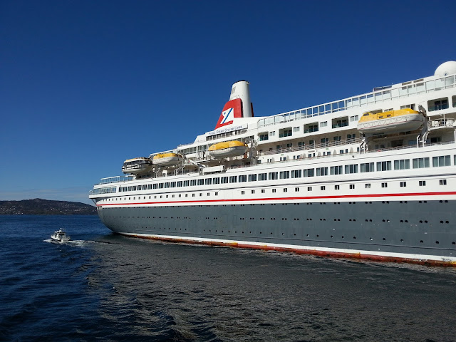 Fred Olsen cruise ship Boudicca in Bergen, Norway