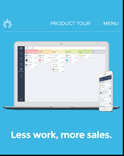 Input less data, make more sales with Salesflare