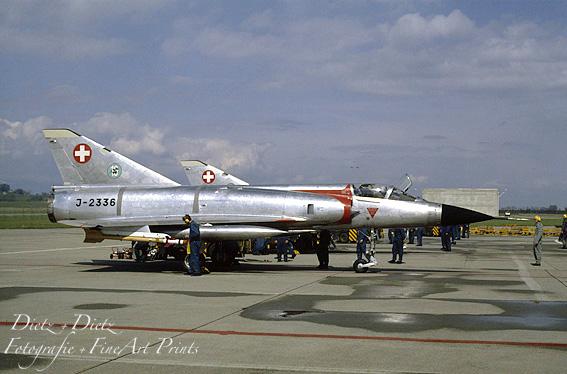 "J-2336 ""Geronimo"", Besuchstag Fl.RS 41/86, Payerne im April 1986"