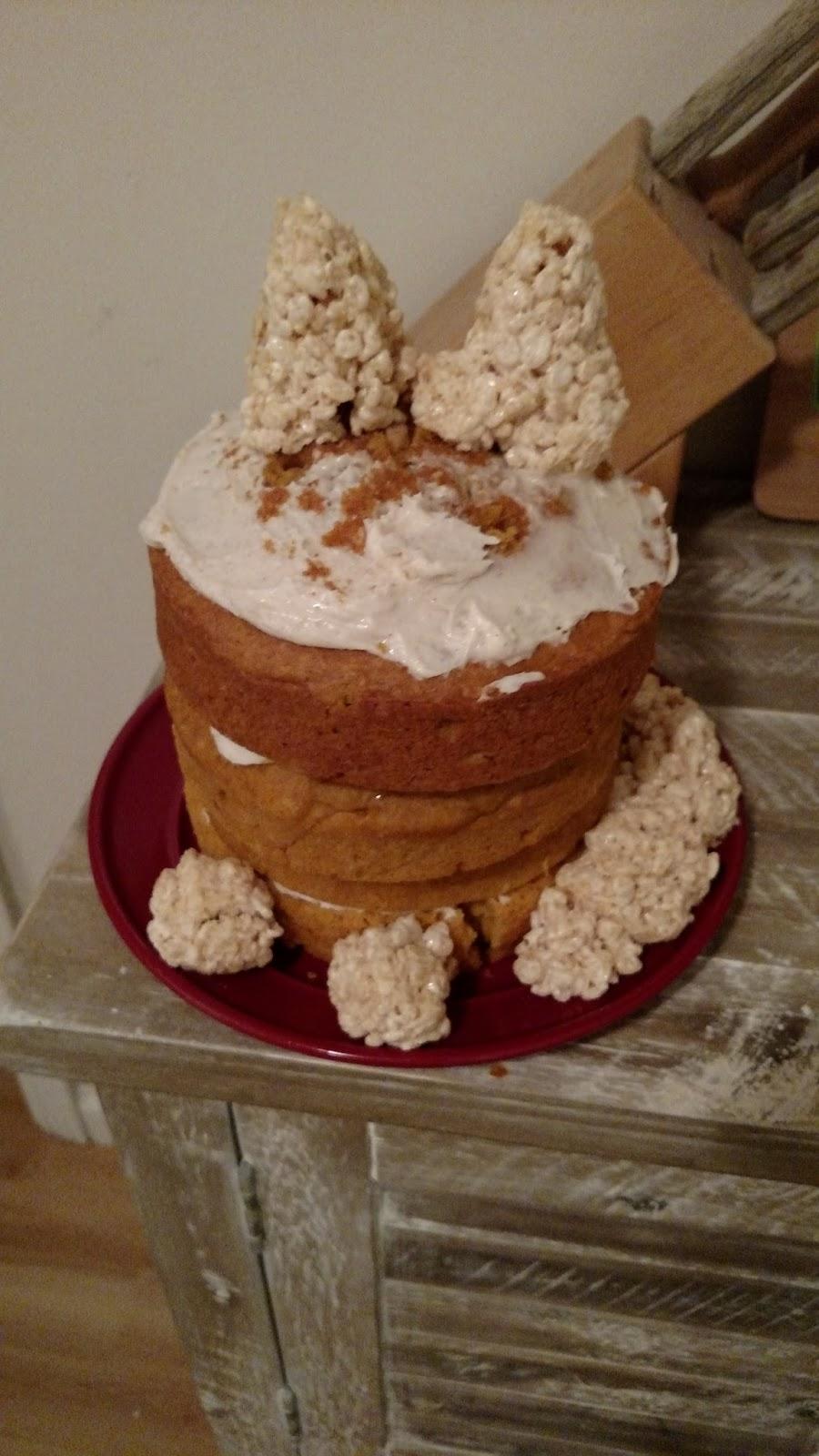 As Cakery Ginger Cat Cake