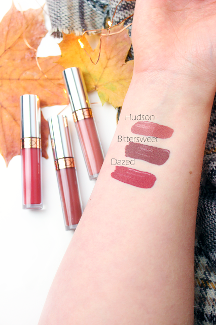 Anastasia Beverly Hills Liquid Lipstick Mini Set review and swatches hudson dazed bittersweet