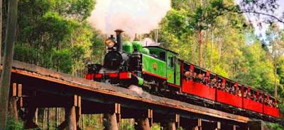 Puffing billy railway Tempat menarik di melbourne australia untuk bercuti