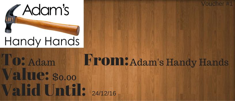 Adam's Handy Hands: Christmas gift ideas.