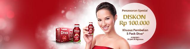 diskon DIVA Beauty Drink