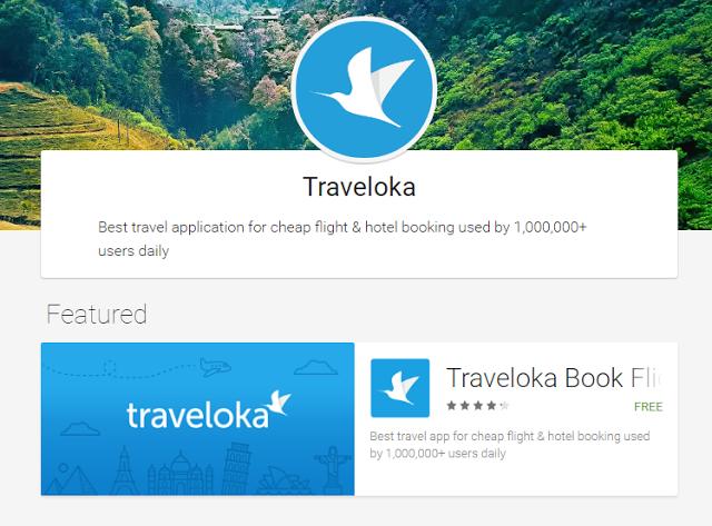 rancang percutian dengan traveloka