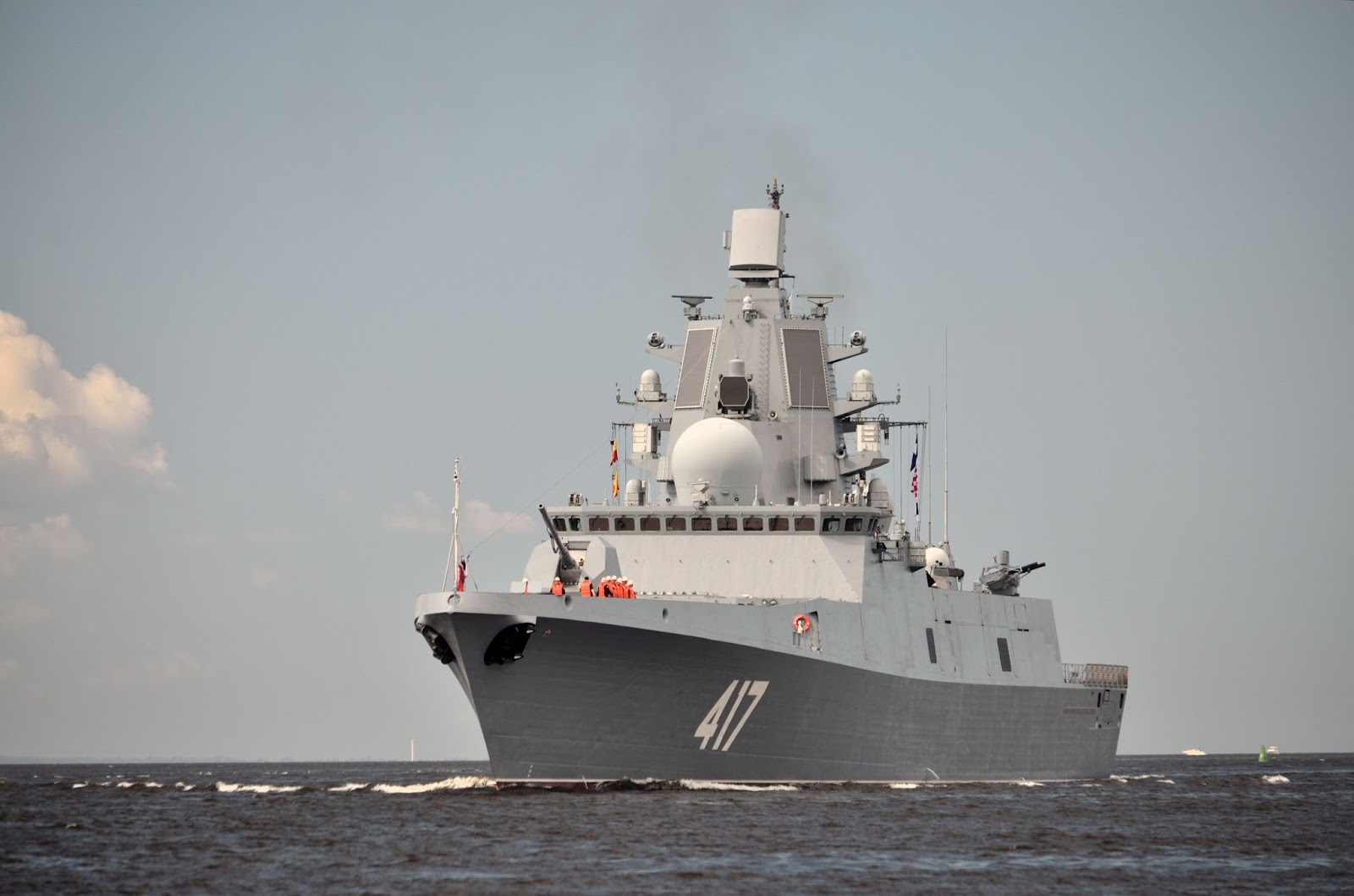 Frigate Admiral Kasatonov: on the design and capabilities of the vessel 73