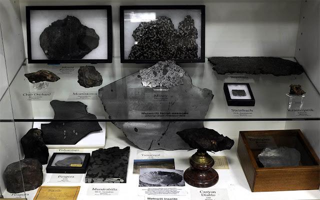 coleção de meteoritos do Vaticano