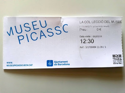 Ticket to Picasso Museum in Barcelona