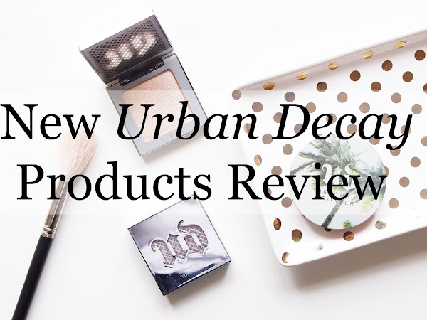 NEW Urban Decay Products REVIEW