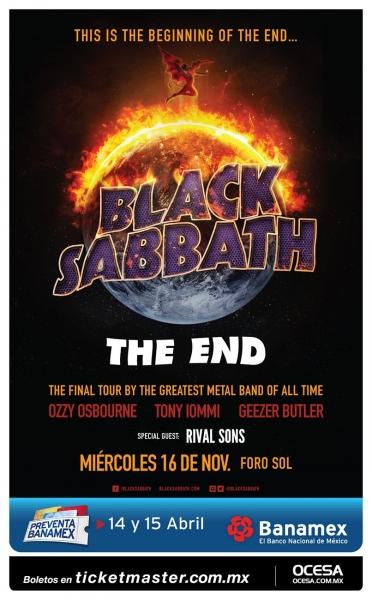 Black Sabbath en México 2016