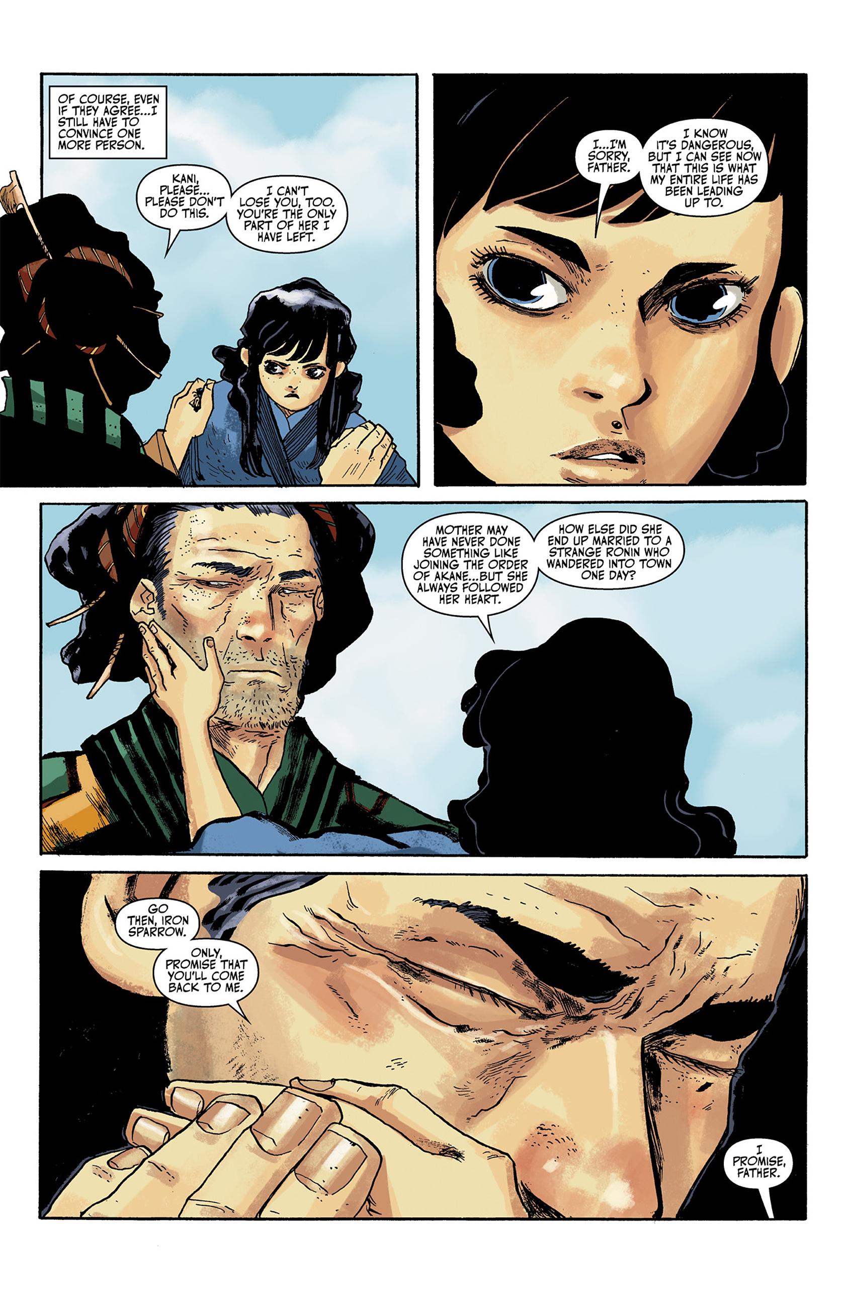 Read online Akaneiro comic -  Issue #1 - 14