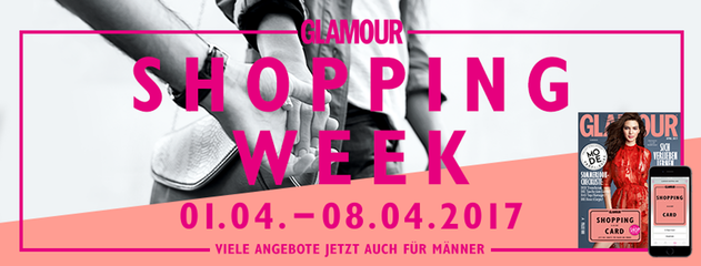 Bildergebnis für glamour shopping week 2017