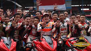 Usai Selesai Membalap Dengan 16 Pembalap Muda Indonesia