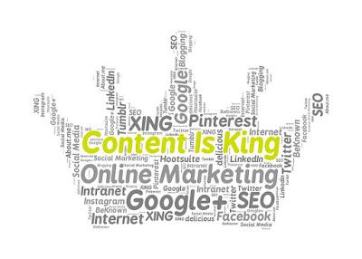 content is king artinya konten adalah raja bagi para kreator konten