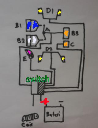 Belajar Mekanik Wiring Switch Handle Motor Cakap Pomen Motor