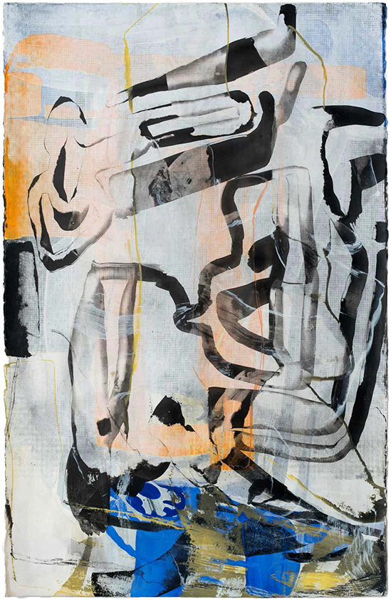 Amy Sillman, SK20, 2017 Mostly drawing, Gladstone 64, New York